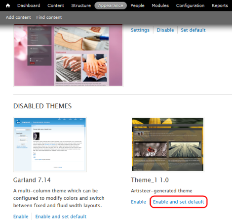 drupal themes